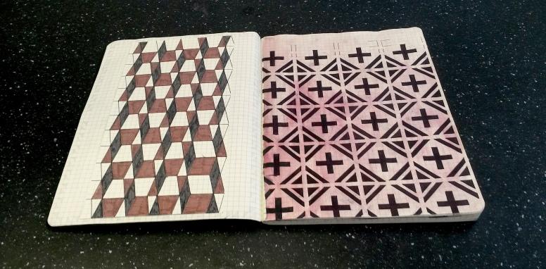 Pattern Moleskine 8