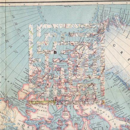 Vintage Map Maze 4